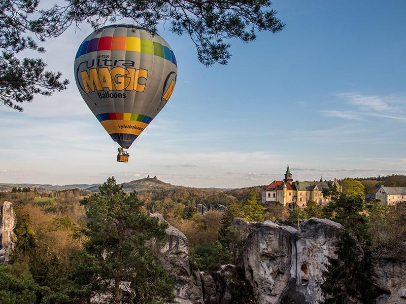 vylety balonem obr cesky raj
